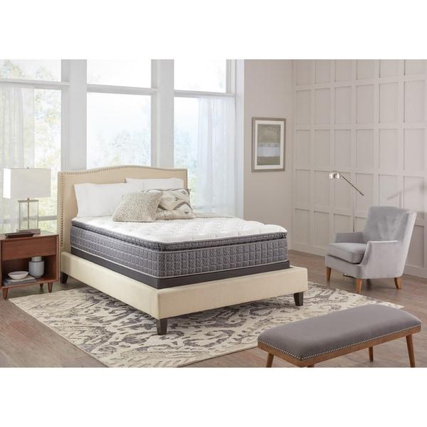 Spring Air Premium Collection Noelle Pillow Top Queen-size Mattress Set - WHITE