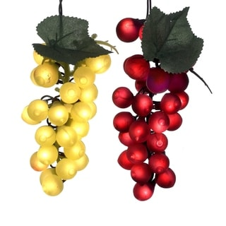 Decorate your mini Christmas tree with a string of little mini lights. These are non-electric and do not light up. Size: 36