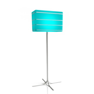 Luminart Grandeur Color Changing Floor Lamp With Remote