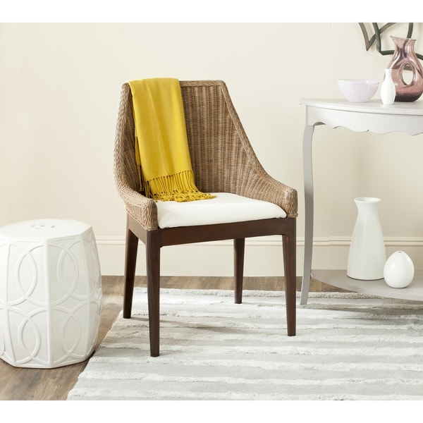 Safavieh Rural Woven Dining Franco Brown Sloping Chair