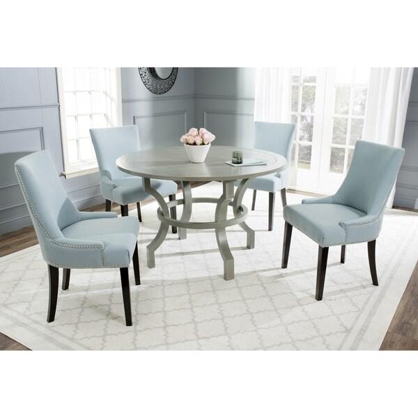 Safavieh Ludlow Ash Grey Round Dining Table 16722583