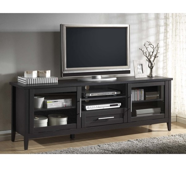 Baxton Studio Espresso Modern Tv Stand One Drawer