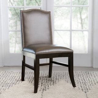 Uptown Leather Velvet Dining Chair Set Of 2 15480719