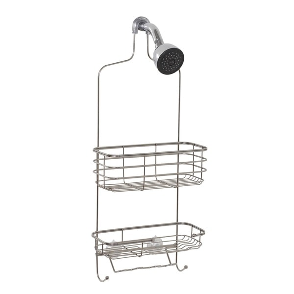 Zenith Extra Large Stainless Steel Shower Head Caddy image