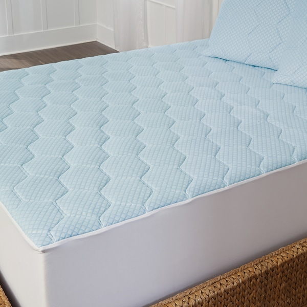 Arctic Sleep Cooling Gel Memory Foam Mattress Pad