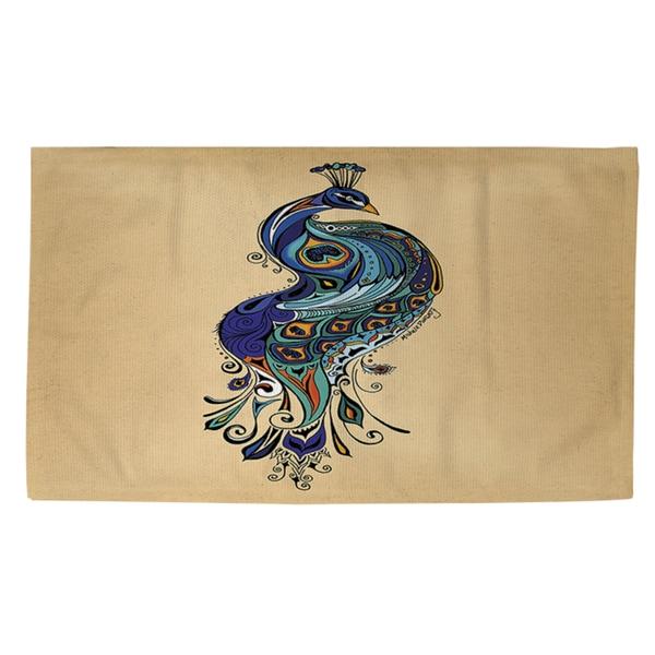 Thumbprintz Peacock Rug (2' x 3')