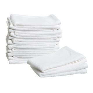 Lucia Minelli Turkish Cotton 13 x 13-inch Wash Cloths (Set of 12)