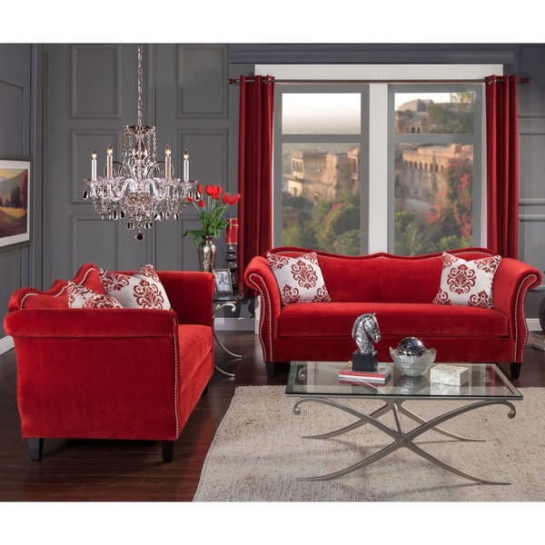 Furniture Of America Living Room Collections: Furniture Of America Othello 2-piece Sofa Set