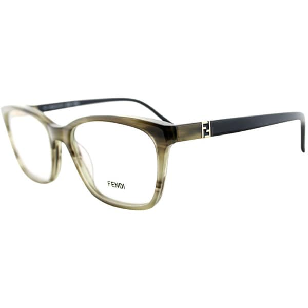 261261392276 Fendi Women  39 s Striped Eyeglasses - Overstock Shopping - Great Deals on  Fendi