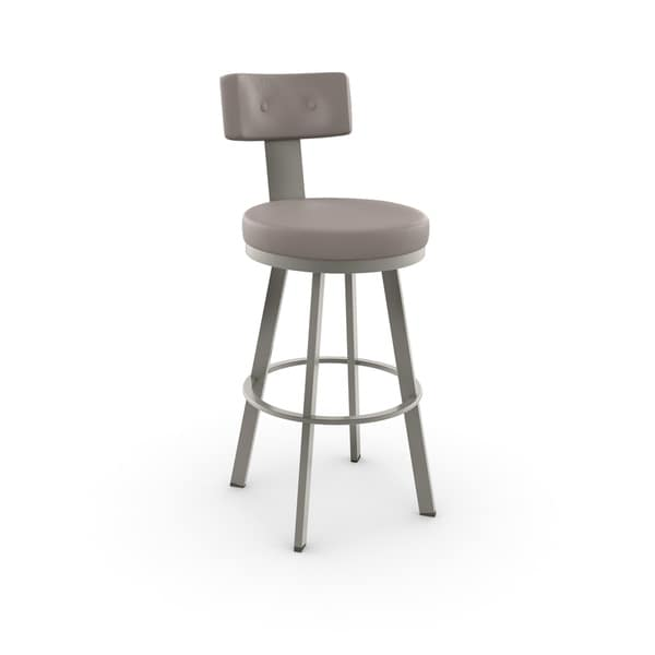 Amisco Tower Swivel Metal Bar Stool 16788921 Overstock