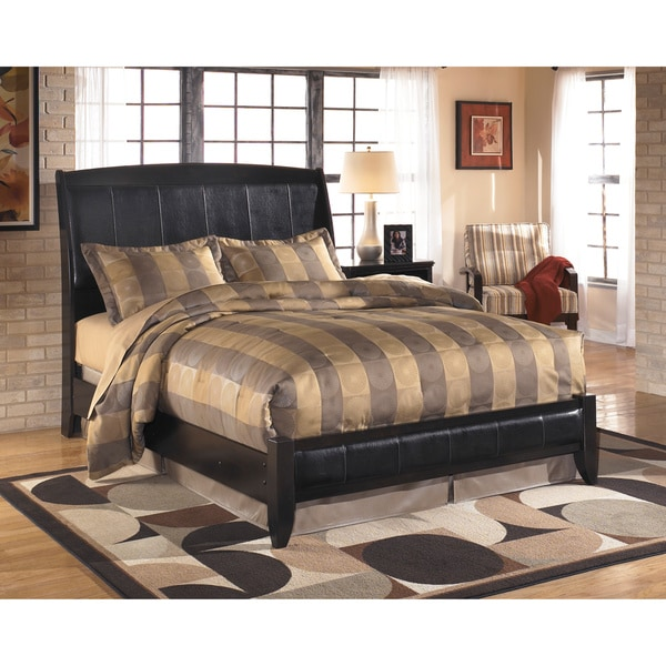 Signature Design By Ashley Harmony Queen Size Dark Brown