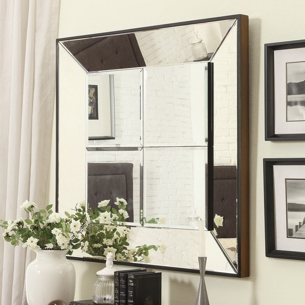 Inspire Q Dubois Beveled Multipanel Square Accent Wall