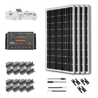 Renogy Solar Panel 100w Watt Monocrystalline 12v Off Grid