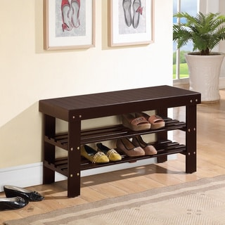 Shoe Rack Bench Benches Amp Settees Overstock Com