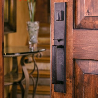 Sure Loc Vail Front Door Vintage Oil Rubbed Bronze