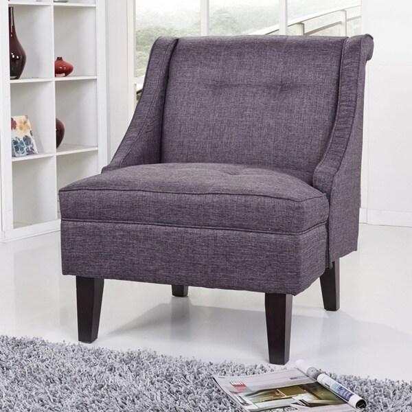 Gold Sparrow Kansas Dark Gray Accent Chair 16799644