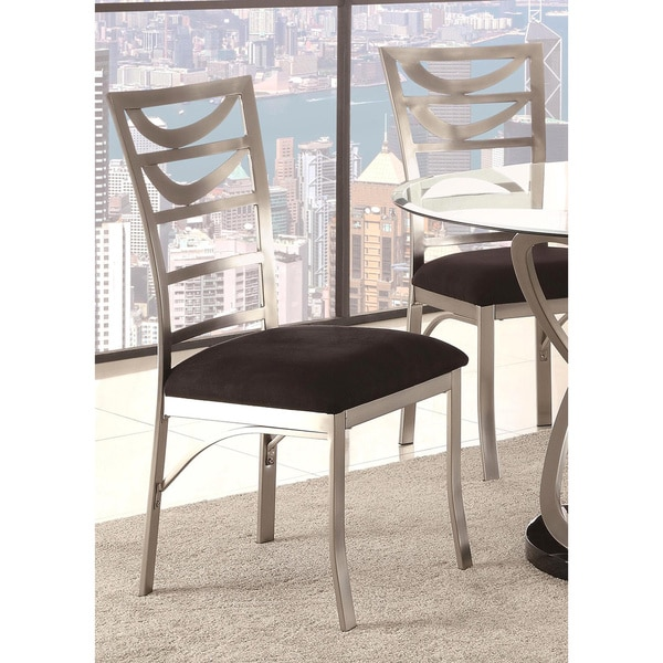 Dining Chairs Deals: Schultz Metal Ladder Back Dining Chairs (Set Of 2