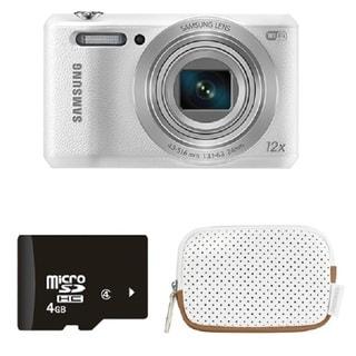 Samsung WB50F Black 16MP Smart Digital Camera Bundle ...