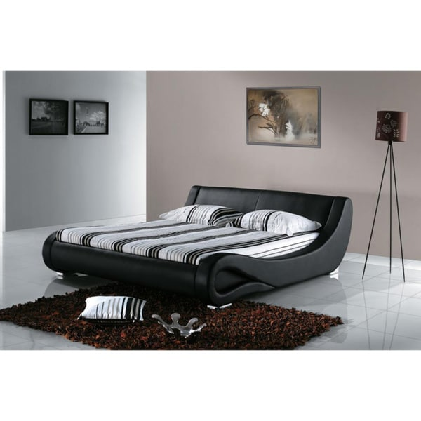 Modern Curved Bed 16806855 Overstock Com Shopping