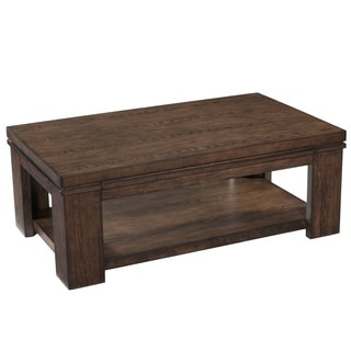 Madison Wood Rectangular Lift Top Cocktail Table