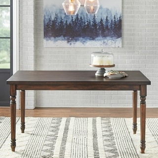 Grain Wood Furniture Valerie 63 Inch Solid Wood Dining