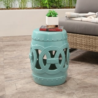 Brilliant Sale Abbyson Living Moroccan Turquoise Ceramic Garden Caraccident5 Cool Chair Designs And Ideas Caraccident5Info