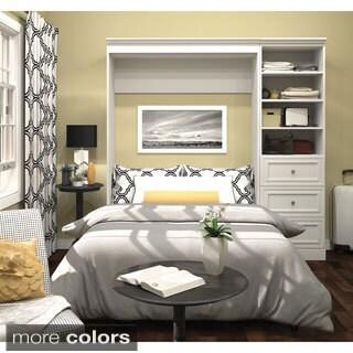 Versatile By Bestar 69 Inch Queen Size Wall Bed 16588591
