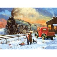 "Paint By Number Kit 15.375""X11.25""-Home For Christmas"