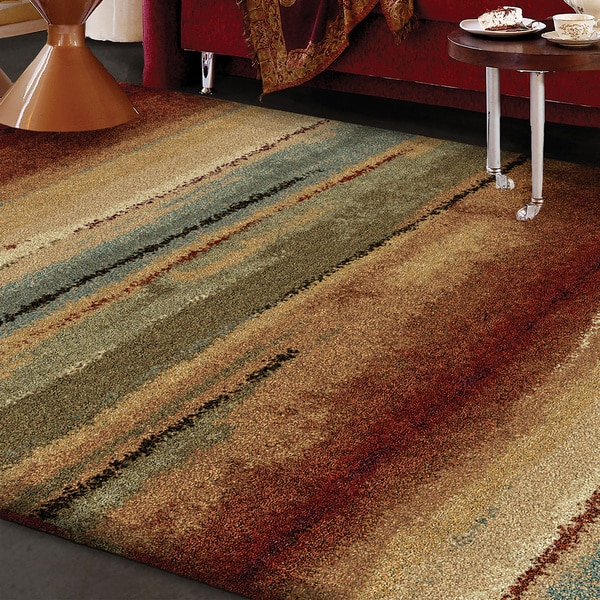 Euphoria Collection Capizzi Multi Olefin Area Rug 3 11 Quot X