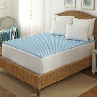 Arctic Sleep Cool Blue 1.5-inch Memory Foam Twin-size Mattress Topper