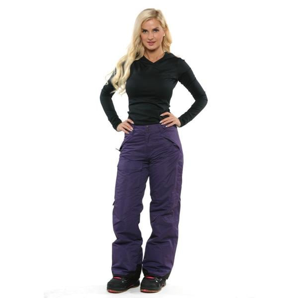 Pulse Women S Purple Rider Snowboard Pants 16835643