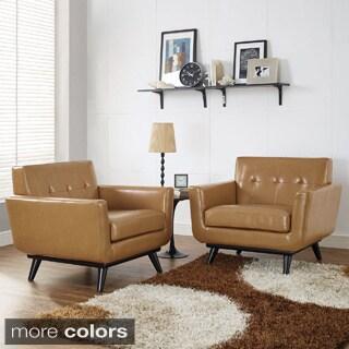 Engage Wooden Leg Armchair 16009691 Overstock Com