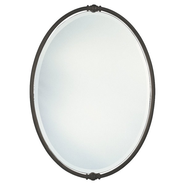 Oil Rubbed Bronze Boulevard Oval Mirror 16840889