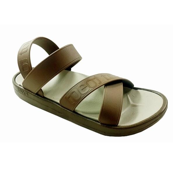 13cd6d56603 TOEOT Mens TA Brown Customizable Sandal 16846241 on PopScreen