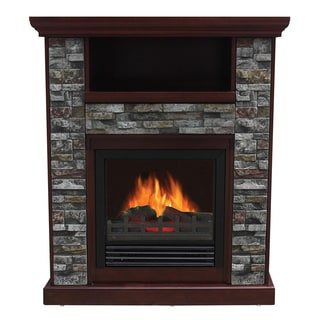 Freestanding Indoor Fireplaces Overstock Shopping The