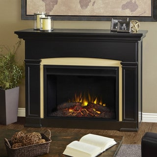 Real Flame Ashley White Electric 48 3 Inch Fireplace