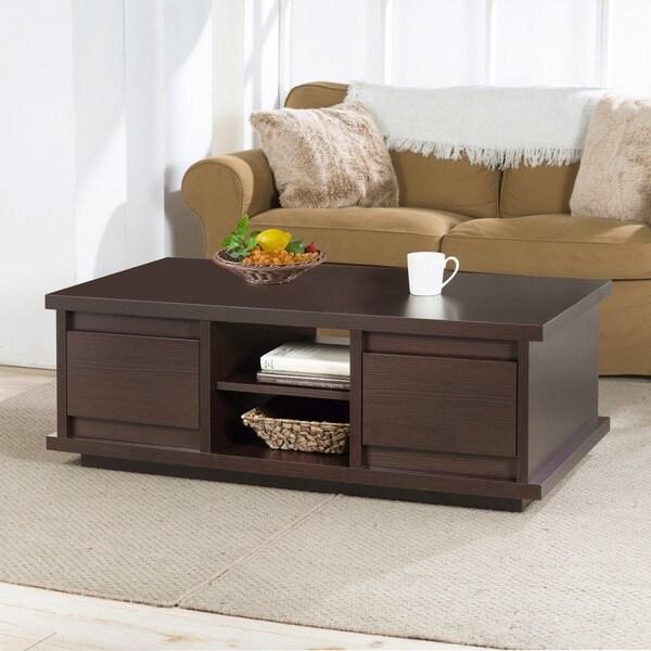Restoration Hardware Outlet Irvine: Furniture Of America Irvine Contemporary Walnut Coffee