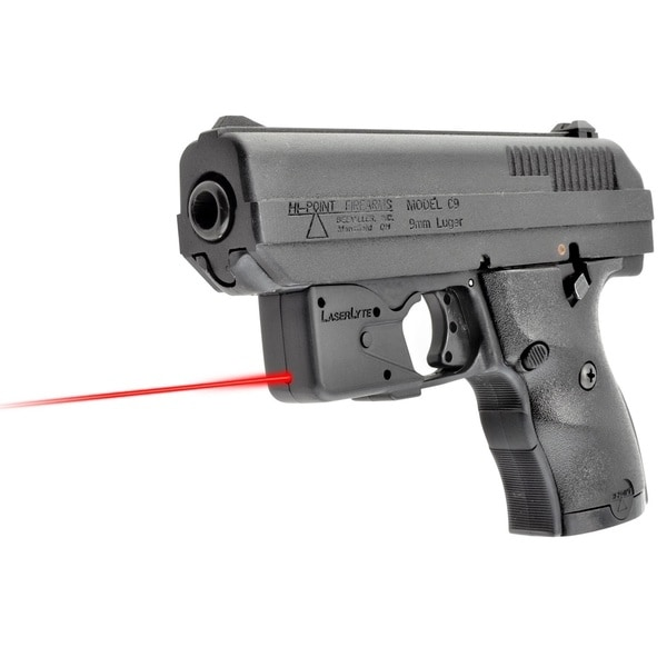 Laserlyte Center Mass Green Laser Sight: LaserLyte TGL Hi-Point Pistol Laser Fits Hi-Point 9/380