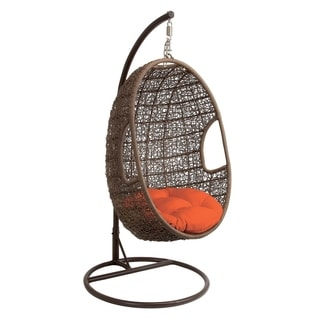 Christopher Knight Home Outdoor Brown Wicker Tear Drop