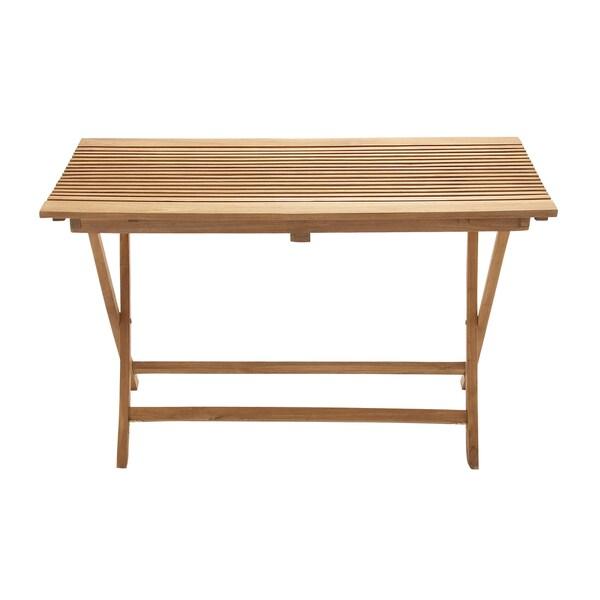 Large Teak Wood Folding Table 16863400 Overstock Com