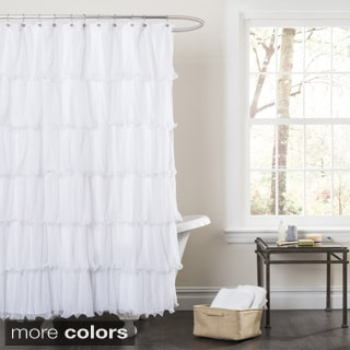Tufted Chenille Shower Curtain Overstock Shopping
