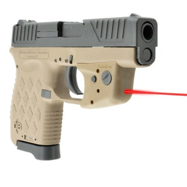 Laserlyte Center Mass Green Laser Sight: LaserLyte TGL Diamond Back Pistol Laser For .380/ 9mm