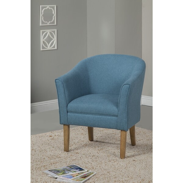 Homepop Teal Chunky Textured Accent Chair 16902328
