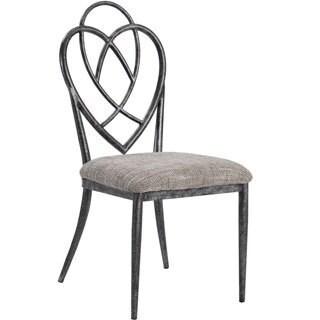 Somette Gun Metal Galvanized Steel Side Chair Set Of 4