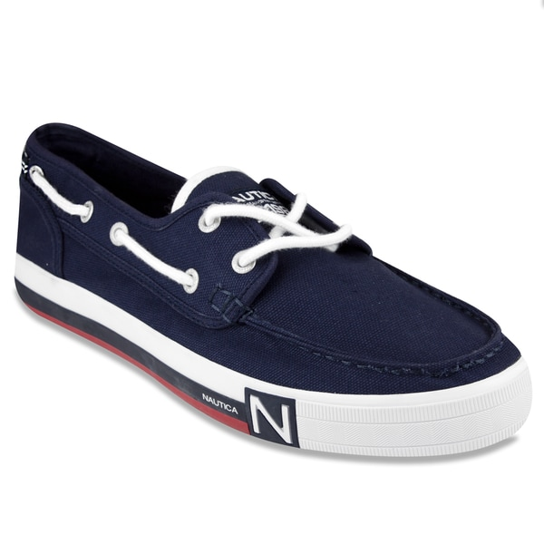 Nautica Boat Shoes Red