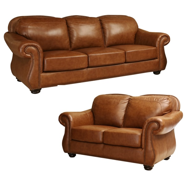 Grain Leather Sofa: Share: Email