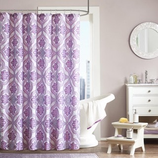 Intelligent Design Ellie Shower Curtain 16920115 Overstock.com Shopping Great Deals on ID