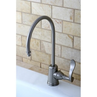Satin Nickel Single Handle Water Filter Faucet 13980765
