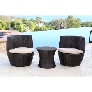Wondrous Sale Abbyson Living Newport Outdoor Espresso Brown Wicker Caraccident5 Cool Chair Designs And Ideas Caraccident5Info