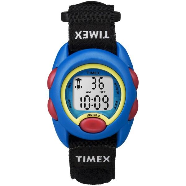 Timex kids blue digital black fast wrap velcro strap watch 5cd76719 df5b 4a9f 99d1 018e82f0cc9c 600